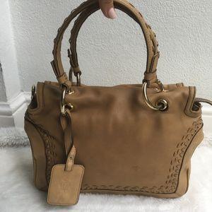 Emilio Pucci Brown Camel Leather Bag
